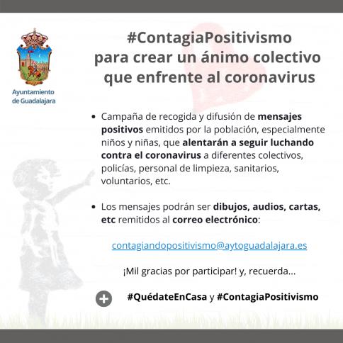 #ContagiaPositivismo, una iniciativa municipal para crear ánimo colectivo que enfrente al coronavirus