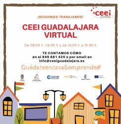 El CEEI continúa con el asesoramiento y acompañamiento a emprendedores de forma virtual