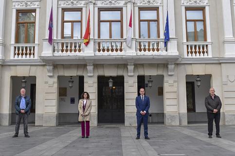 Ayuntamiento, CEOE, UGT y CCOO sellan el Pacto por la Recuperación Económica y Social de Guadalajara