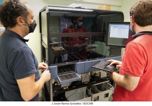 Un nuevo equipo del Hospital de Guadalajara permite hacer más de 1.000 test de COVID-19 al día