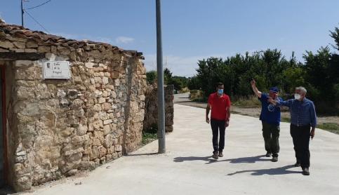 Diputación invierte más de 200.000 euros en obras en pueblos de la Sierra Norte