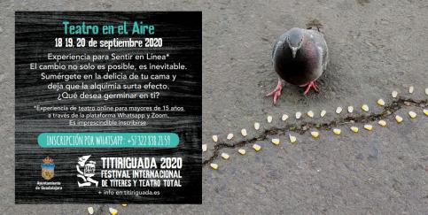 Vuelve el Titiriguada, esta vez como teatro online