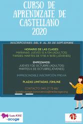Azuqueca abre la inscripción de sus cursos de castellano para extranjeros