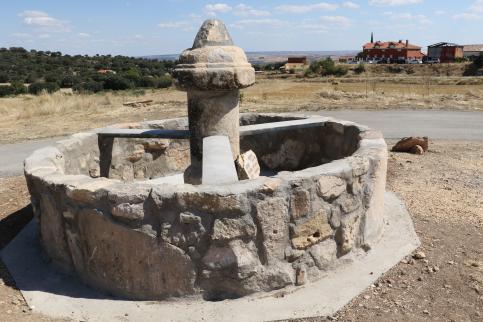 Recuperan la antigua fuente de Torrebeleña