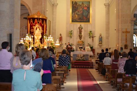 Los yunqueranos honraron a la Virgen de La Granja en su día grande