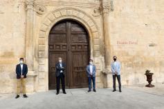 La Universidad de Alcalá visita Pastrana para hablar de cómo aprovechar más el Palacio Ducal