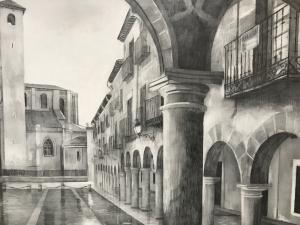 El 24 de octubre, XX Concurso de Pintura Rápida de Sigüenza