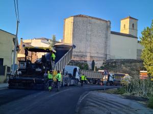 Diputación invierte 328.000 euros en renovar la carretera que une Horche, Yebes y Valdarachas