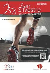 La XXXIV San Silvestre Alcarreña será virtual y no competitiva