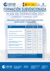 CEOE-Cepyme Guadalajara lanza sus cursos gratuitos para 2021