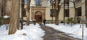Sigue sin haber clase en el colegio La Arboleda de Pioz y 15 rutas escolares se han visto afectadas por el hielo