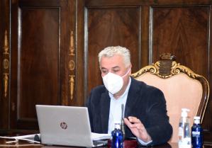 Diputación recaba informes de daños por las nevadas en los pueblos