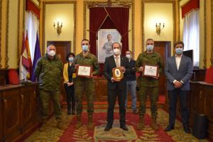 Guadalajara agradece al Ejército su colaboración en la lucha contra los efectos de 'Filomena'