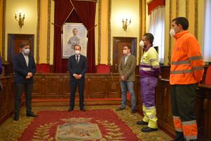 Alberto Rojo pone en valor el trabajo de los que han combatido el temporal 'Filomena'