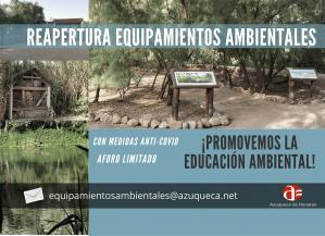 Vuelven a abrir la Reserva Ornitológica y el Aula Apícola de Azuqueca