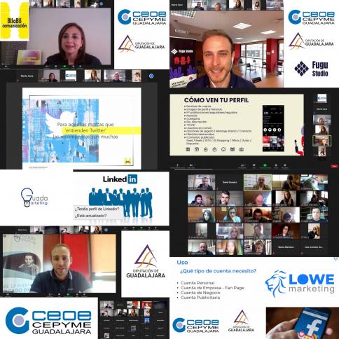 Unas 400 pymes y autónomos participan en las jornadas sobre gestión de redes sociales de CEOE-Cepyme