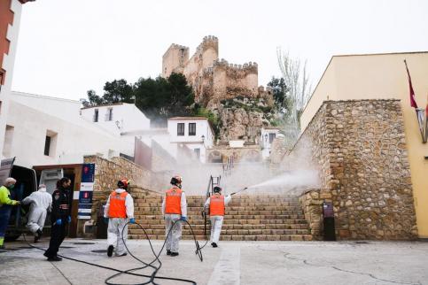 Protección Civil de Castilla-La Mancha nunca tuvo tanto trabajo como en 2020