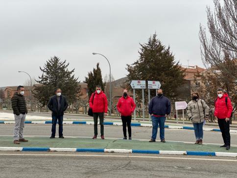 La Vuelta visita Molina de Aragón para preparar la llegada de su cuarta etapa