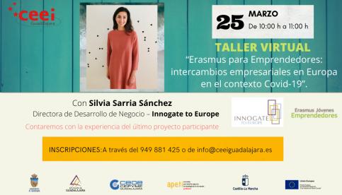 """""""Erasmus para emprendedores"""", nuevo taller virtual del CEEI"""