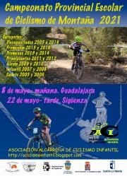 El próximo 22 de mayo en Sigüenza, Campeonato Provincial de Ciclismo de Montaña