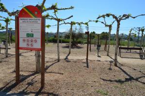 Yunquera revitaliza el Parque de San Cleto