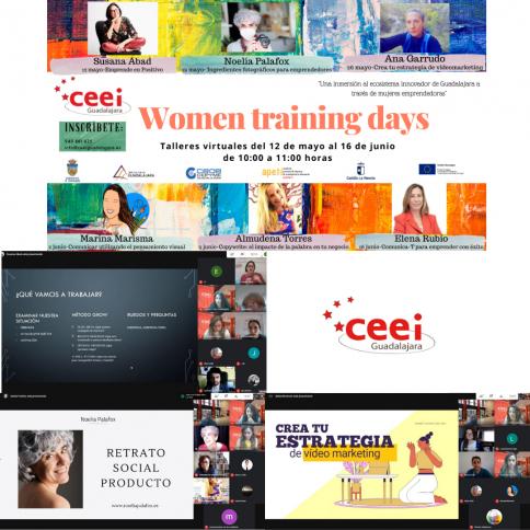 Éxito de los tres primeros talleres de mujeres emprendedoras en el CEEI