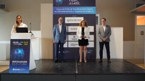 La Diputación gana el premio @aslan por su nuevo sistema de seguridad informática para ayuntamientos