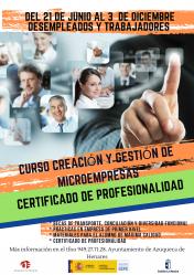 Abierta la inscripción en el curso 'Creación y gestión de microempresas' en Azuqueca