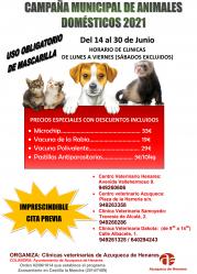 En Azuqueca también hay campaña de vacunación para los animales