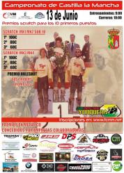 Yunquera acoge este domingo su prueba del Campeonato de Castilla-La Mancha de Motocross
