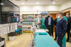 Page conoce los últimos avances tecnológicos adquiridos para el Hospital de Guadalajara