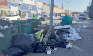 El Ayuntamiento de Cabanillas se pone serio con la basura de sus polígonos