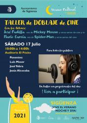 Este sábado, taller de doblaje en el verano cultural de Sigüenza