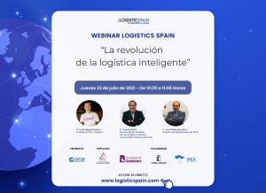 """'Logistics Spain' celebra un nuevo webinar con """"La revolución logística inteligente"""" como tema"""