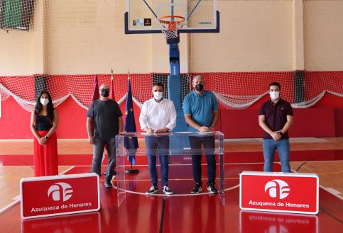 El Ayuntamiento de Azuqueca firma un convenio con el nuevo Baloncesto Azudense
