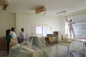 Azuqueca acomete trabajos de pintura en los colegios públicos