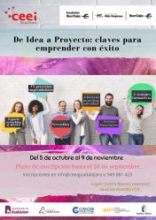 Fundación CEEI Guadalajara e Ibercaja lanzan un programa para emprender con éxito
