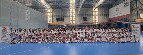 Azuqueca acogió a los 300 participantes del Encuentro de Tecnificación de Taekwondo