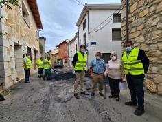 Comienza el primer Plan de Asfaltado de la Diputación de Guadalajara