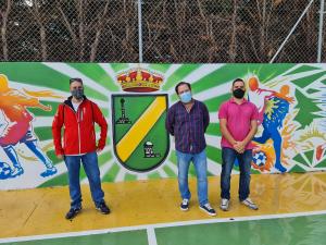Pozo de Guadalajara culmina la reforma de su pista polideportiva