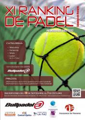 Vuelve el Ranking de Pádel a Azuqueca con una nueva categoría juvenil