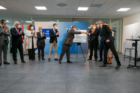 Page inaugura en Cabanillas del Campo la nueva planta de Mixer&Pack