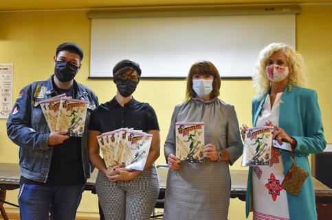 El Ayuntamiento inicia en el IES Brianda de Mendoza la campaña 'El reto de la orgánica'