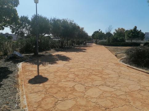 Villanueva de la Torre continúa con la remodelación de parques